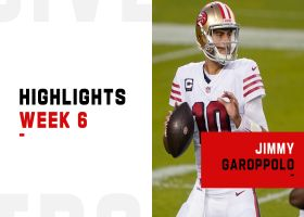 Jimmy Garoppolo's best throws in prime time | Week 6