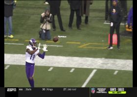Can't-Miss Play: Treading well! Laquon Treadwell all alone for 58-yard TD grab