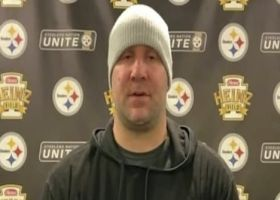 Ben Roethlisberger reacts to the Steelers loss to Browns