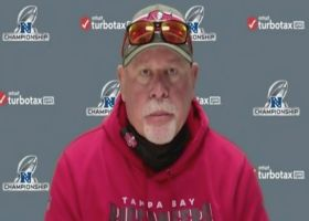 Arians on looking ahead to SB LV in T.B.: 'We don't play that game this week'