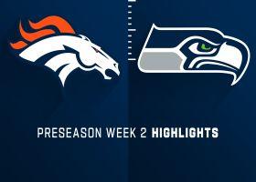 Broncos vs. Seahawks highlights | Preseason Week 2