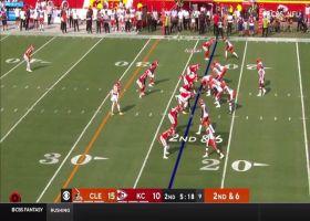 Mayfield lead blocks for Schwartz's speedy 17-yard reverse