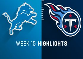 Lions vs. Titans highlights | Week 15