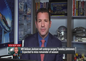 Ian Rapoport: Expectation is that DeSean Jackson will miss remainder of the season
