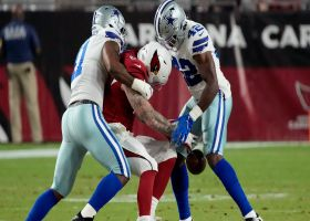 Keanu Neal rips ball from Maxx Williams for Cowboys takeaway