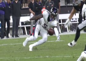 Hollywood Brown's scooping one-hand grab wows ESPN broadcast crew