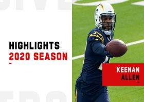 Keenan Allen's first-down receptions | 2020 season