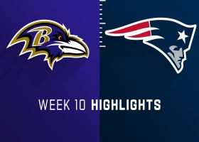 Ravens vs. Patriots highlights | Week 10