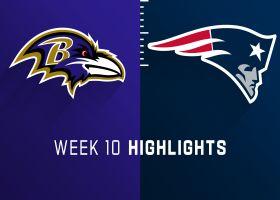 Ravens vs. Patriots highlights | Week 10