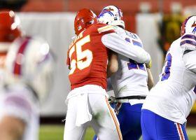 Frank Clark drops Josh Allen for major loss on 10-yard sack