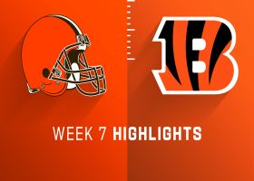 Browns vs. Bengals highlights | Week 7