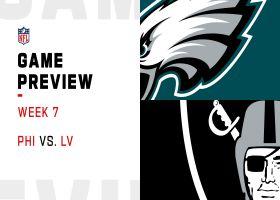 Eagles vs.  Raiders preview | Week 7