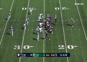 Mac Jones can't escape John Franklin-Myers on 11-yard strip-sack
