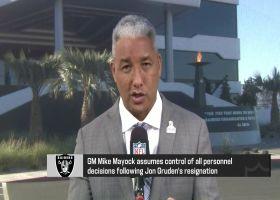 Wyche talks Raiders moving forward from Gruden's resignation
