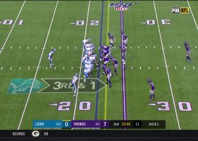 Vikings stuff Lions on third-and-1