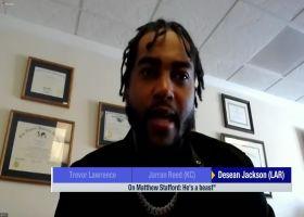 DeSean Jackson on Matthew Stafford: 'He's a beast'