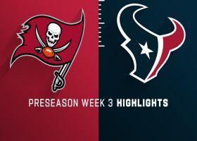 Buccaneers vs. Texans highlights | Preseason Week 3
