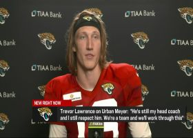 Trevor Lawrence on how Jaguars are reacting to Meyer's bar incident, apology