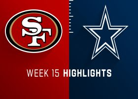 49ers vs. Cowboys highlights | Week 15