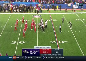 Ravens unveil sneaky fake kneel-down trick play to end first half