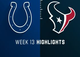 Colts vs. Texans highlights | Week 13