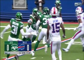 Bradley McDougald comes up with first critical turnover for Jets