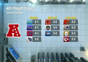 How AFC playoff picture looks entering Week 6 | 'Power Rankings'