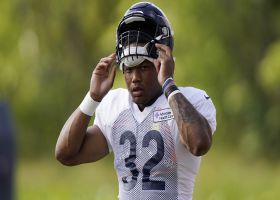 Pelissero: David Montgomery carted off at Bears camp with groin strain