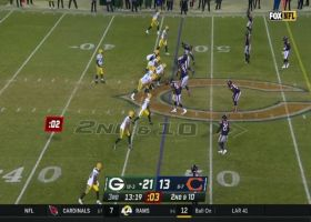 Khalil Mack chases down Aaron Rodgers for key sack