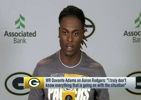 Davante Adams weighs in on Aaron Rodgers' absence from Packers minicamp