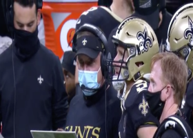 Sean Payton talks breakfast when asked about Brees' injury