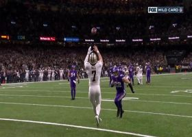 Taysom Hill runs by Harrison Smith for impressive TD grab