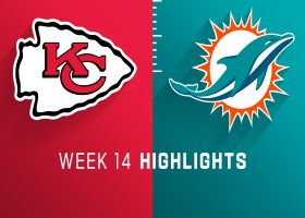Chiefs vs. Dolphins highlights | Week 14