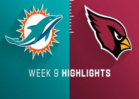 Dolphins vs. Cardinals highlights | Week 9