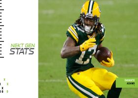 Next Gen Edge: Where will Davante Adams be most dangerous vs. Buccaneers?