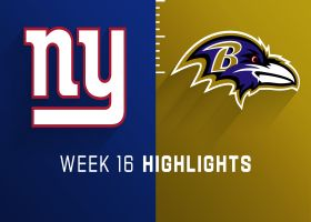 Giants vs. Ravens highlights | Week 16