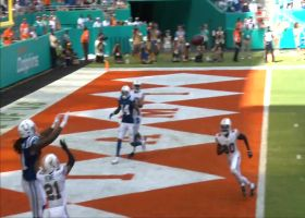 Mo Alie-Cox uses all of 6-foot-5 frame to snag top-shelf TD