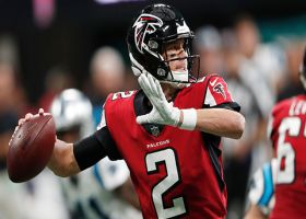 Matt Ryan connects with Marvin Hall for 30-yard catch