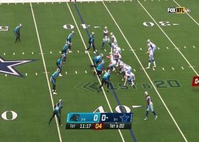 'How did he do it?' D.J. Moore's unreal balance springs electrifying 29-yard catch and run