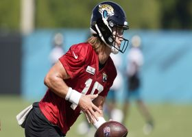 Rapoport: Trevor Lawrence 'picked off at least twice' by Jaguars defense Monday