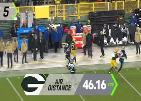 Next Gen Stats: Top 5 connections by air distance yards | Week 10