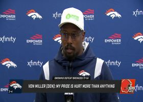 Von Miller reacts to Broncos' loss to Browns