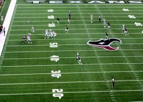 See Geoff Swaim fight defenders off on a big 43-yard gain  in 360 | True View
