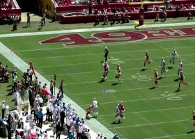 See the San Francisco 49ers D-line rush Matt Stafford and force the fumble in 360 degrees | True View