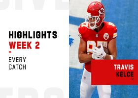 Every catch from Travis Kelce's 90-yard game | Week 2
