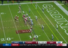 Dorance Armstrong engulfs Colt McCoy for third-down sack