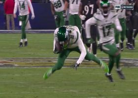 Robby Anderson snags 41-yard pass from Sam Darnold with fingertips