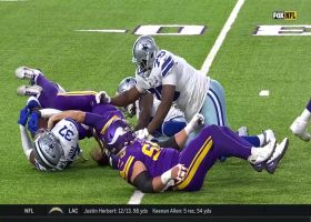 DeMarcus Lawrence, Donovan Wilson combine for strip-sack of Kirk Cousins