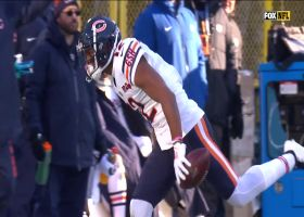 Robinson hauls in 34-yard loft from Trubisky after CB falls down