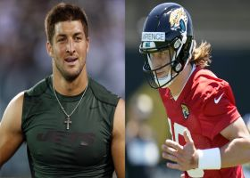 Garafolo: Why Tebow's jersey is in front of Lawrence's on Jags' shop